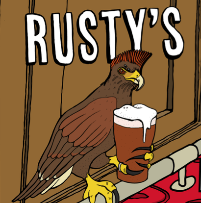 Rusty's Best Bitter - 4.4% (500ml Bottle)