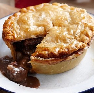 Homemade Beef Pie