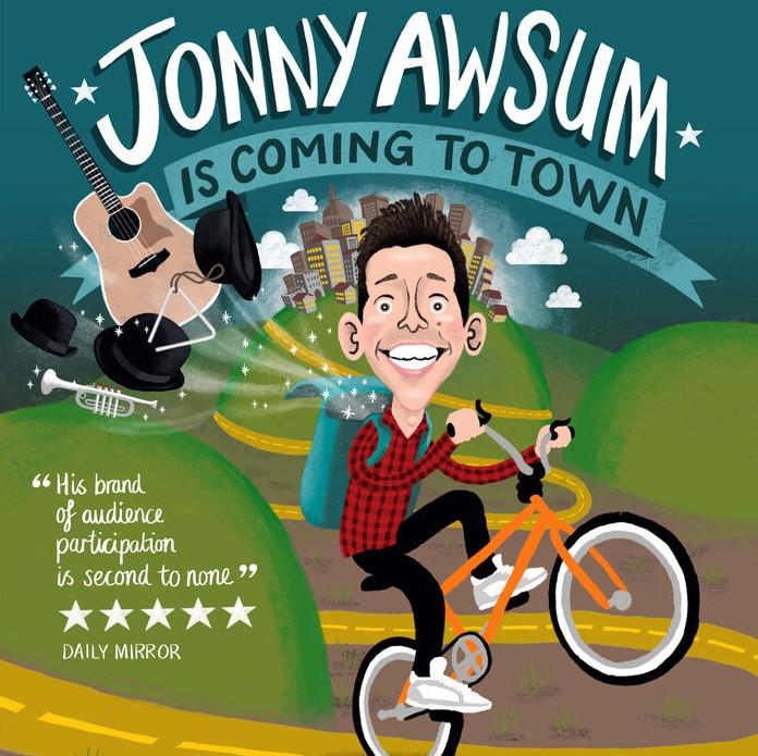Jonny Awsum - Sunday Evening 7pm - 29th August