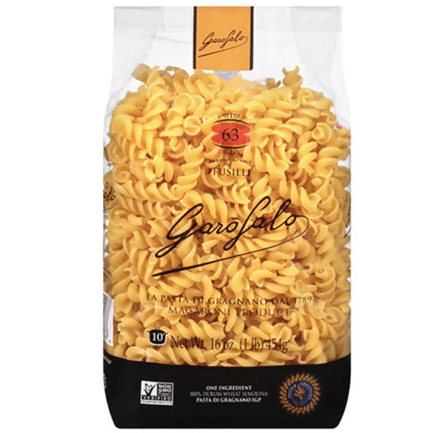 Garofalo Fusilli Dry Pasta
