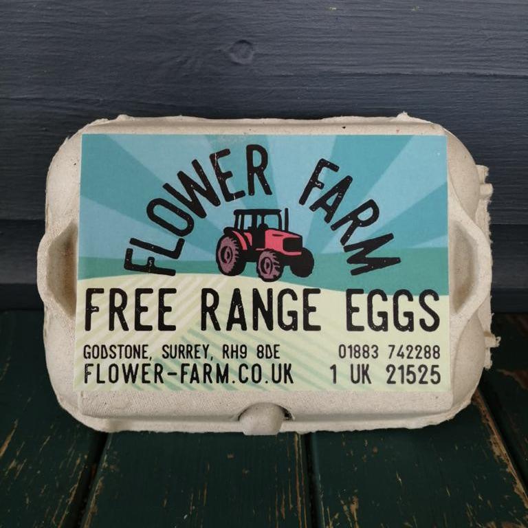 Flower Farm Free Range Box of Eggs
