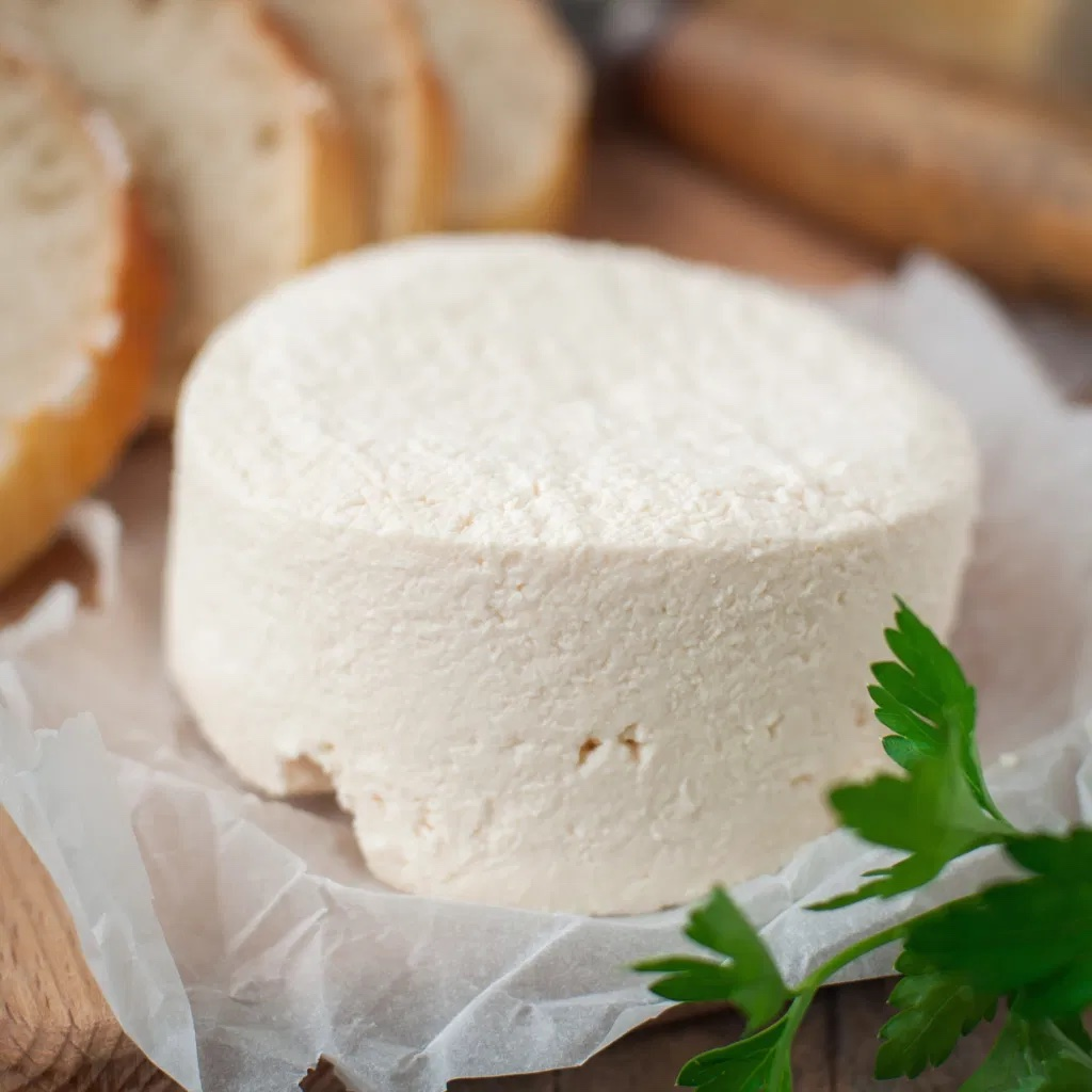 Rosary Goats Cheese Button