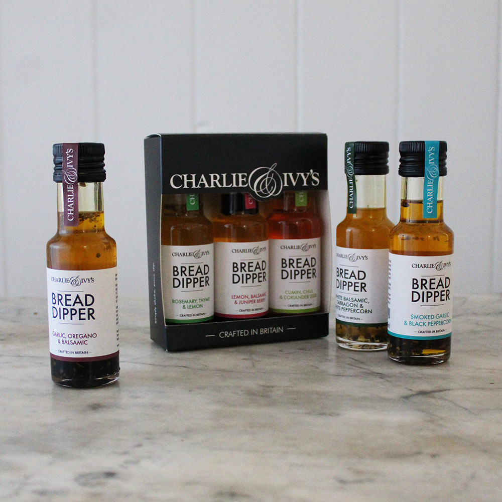 CHARLIE & IVY'S DIPPING OIL GIFT SET (3 X 100ML)