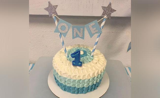 1st Boy Birthday Cake 1 Year Baby Boy Birthday Cake