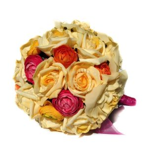 Artificial Brides Bouquet Firenze