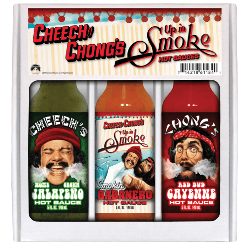 Cheech & Chong's Up In Smoke Hot Sauce Gift Box