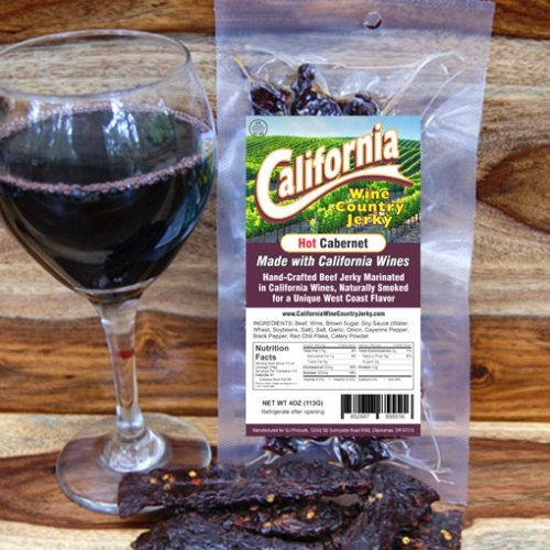 California Wine Country – Hot Cabernet Beef Jerky