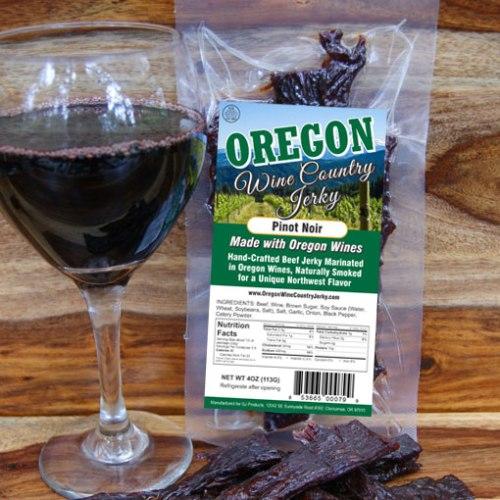 Oregon Wine Country – Pinot Noir Beef Jerky