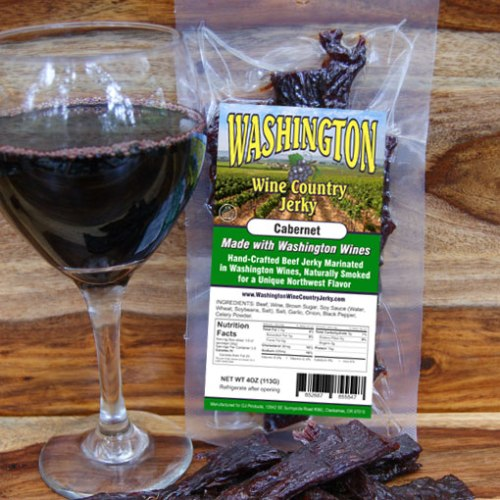 Washington Wine Country – Cabernet Beef Jerky