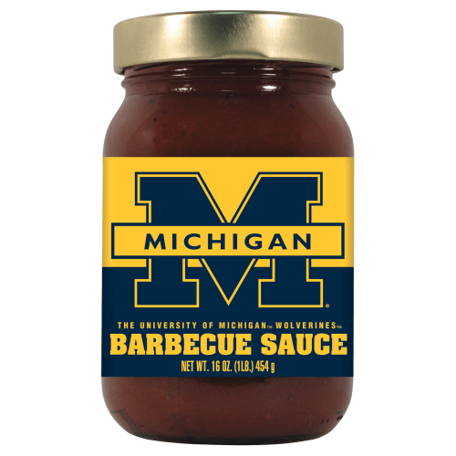 Michigan Wolverines BBQ Sauce