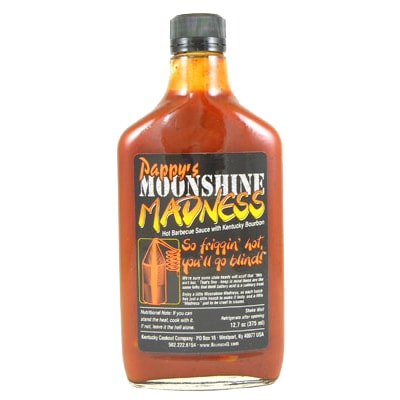 BourbonQ Pappy's Moonshine Madness BBQ Sauce