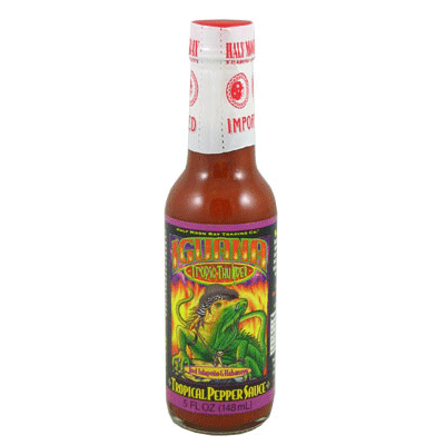 Iguana Tropic Thunder Pepper Sauce