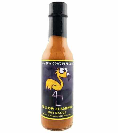 Angry Goat Pepper Co. Yellow Flamingo Hot Sauce