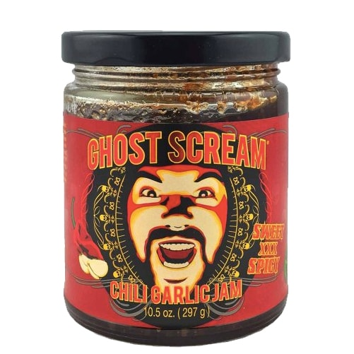 Ghost Scream Chili Garlic Jam
