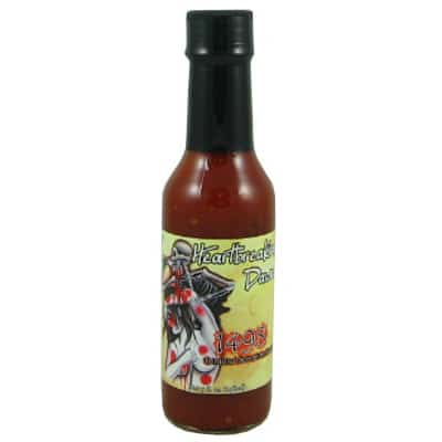 Heartbreaking Dawns 1498 Apricot Trinidad Scorpion Hot Sauce