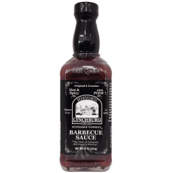 Historic Lynchburg Tennessee Whiskey BBQ Sauce - Hot & Spicy