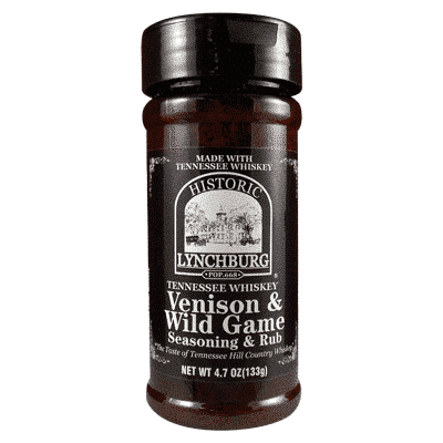 Historic Lynchburg Tennessee Whiskey Venison and Wild Game Seasoning