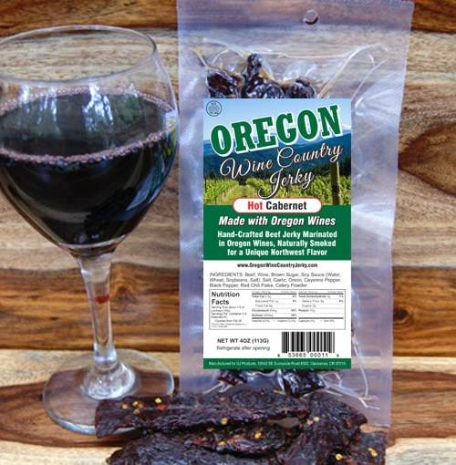 Oregon Wine Country – Hot Cabernet Beef Jerky