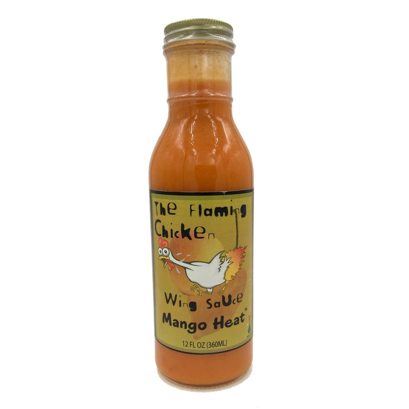 The Flaming Chicken Mango Heat Wing Sauce