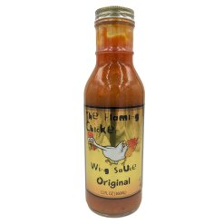 The Flaming Chicken Original Hot Wing Sauce