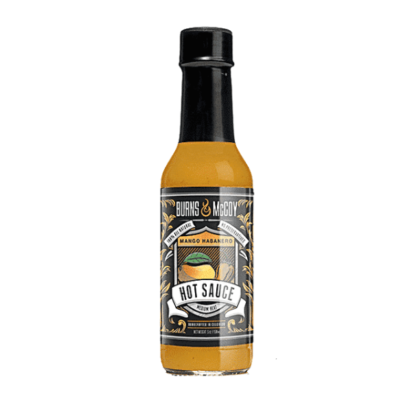 Burns & McCoy Mango Habanero Hot Sauce