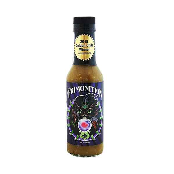 Primo's Peppers Primonition Hot Sauce