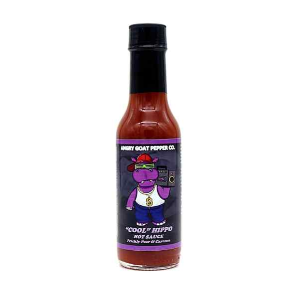 Angry Goat Pepper Co. Cool Hippo Hot Sauce