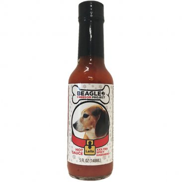 Beagle Freedom Project XXX-tra Spicy Habanero Hot Sauce - Leila