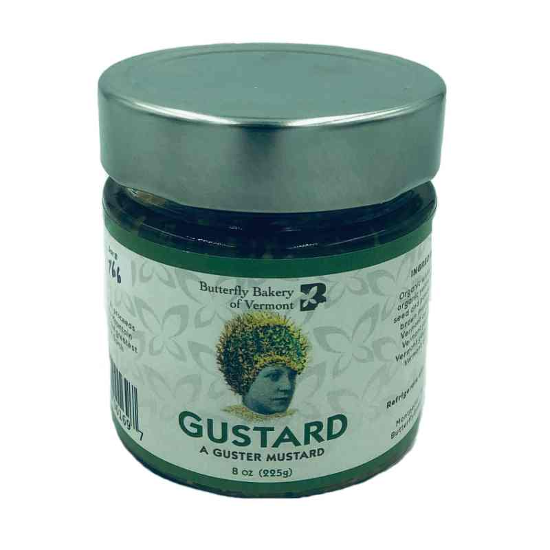 Butterfly Bakery of Vermont Gustard - A Guster Mustard