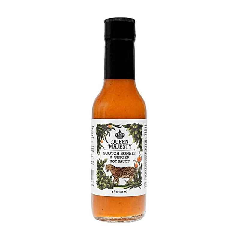 Queen Majesty Scotch Bonnet & Ginger Hot Sauce