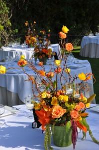 flowerduet-orange-summer-sunset-centerpiece