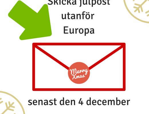 skicka julpost