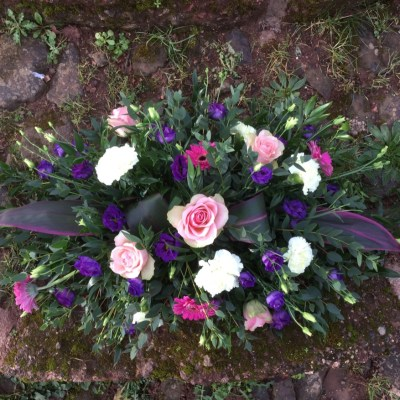 flower joy funeral arrangements