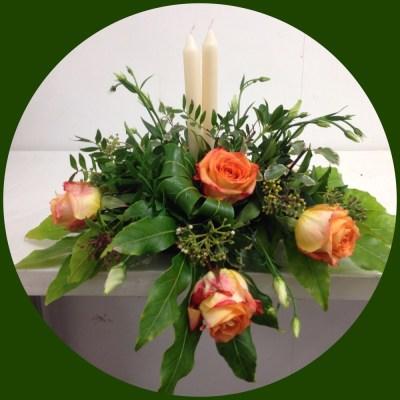 Top table arrangement by flowerjoy
