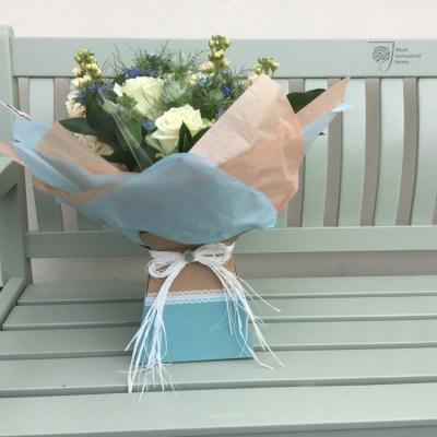 Aqua pack bouquets by flowerjoy