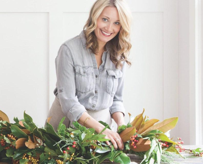 Jessica Sloane, evergreen garland