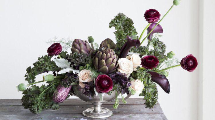 harvest flower arrangements