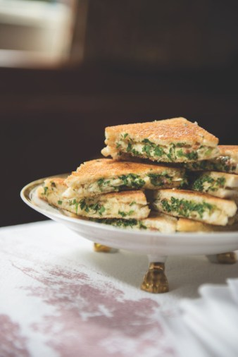Grilled Deviled Crab Cheese Sandwiches