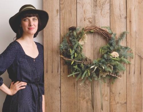 amy merrick, wreath how-to
