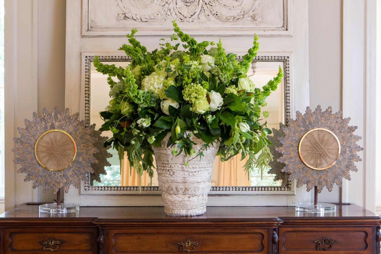 Giverny greens french monochromatic flower magazine