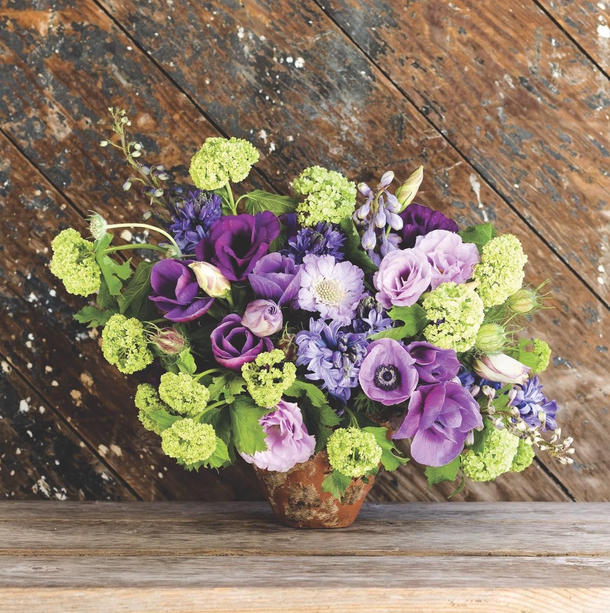 Heather barries spring palette flower magazine heather barries spring palette arrangements mightylinksfo