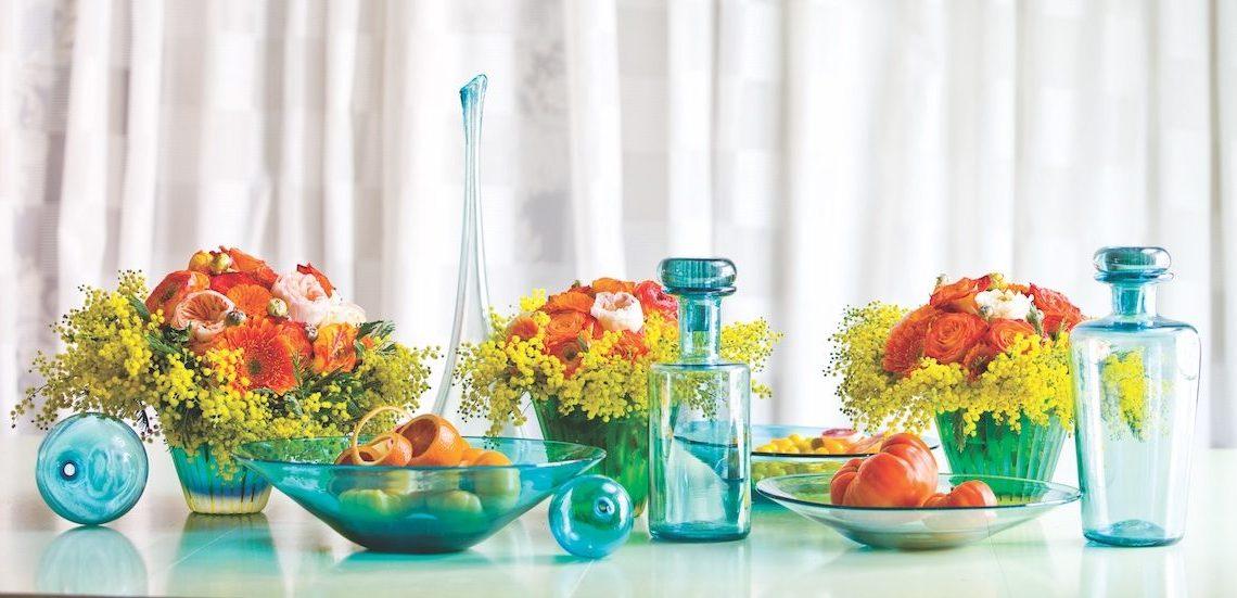 summer flower arrangements