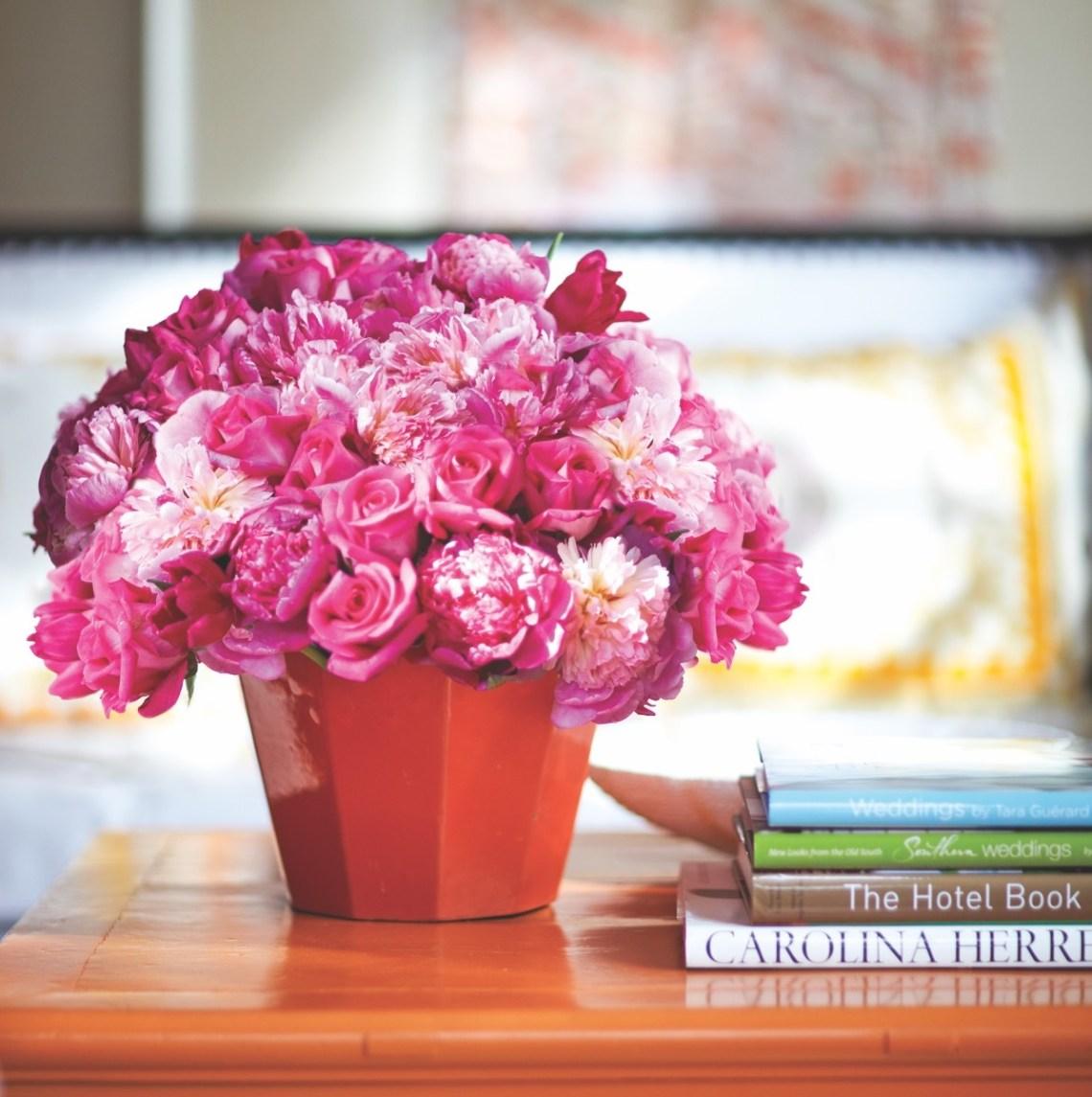 Pretty In Pink Arrangement Flower Magazine Home Lifestyle