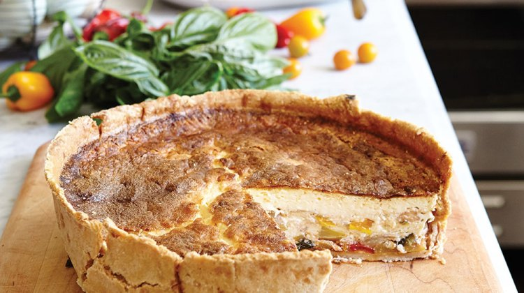 stitt quiche, summer party recipes