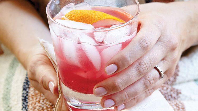 blackberry-ginger cocktail, frank stitt
