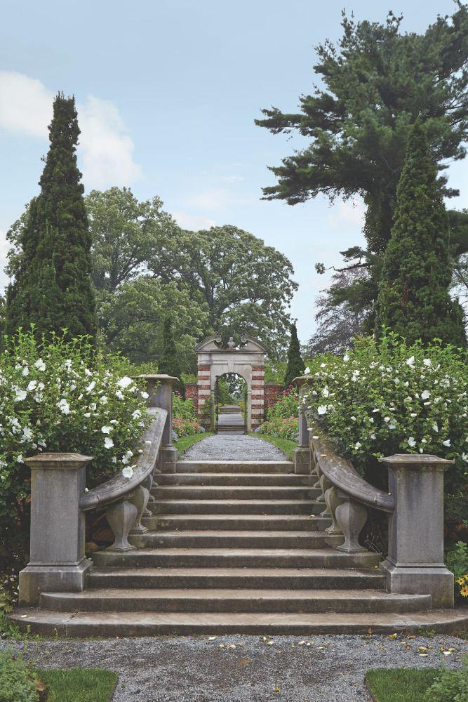 old westbury gardens, walled garden
