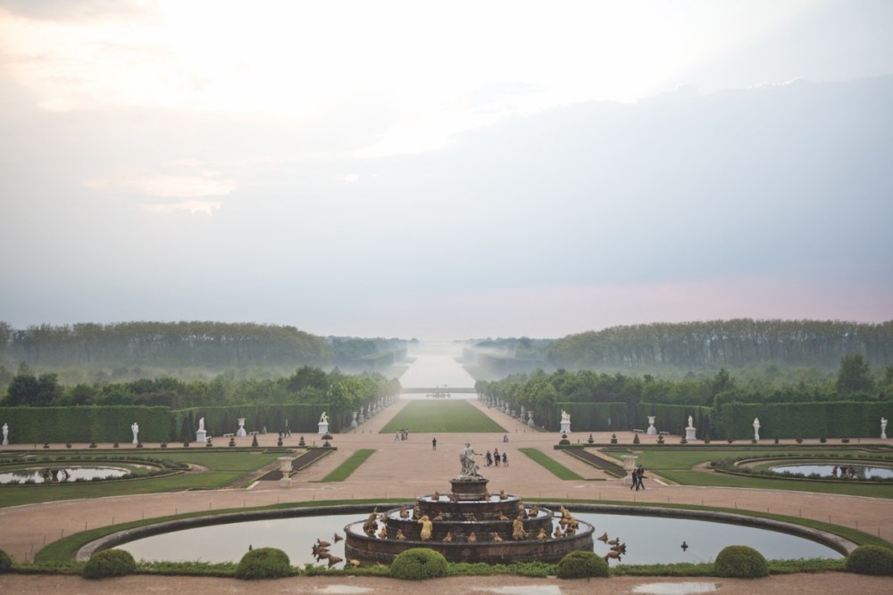 gardens of versailles, fountains