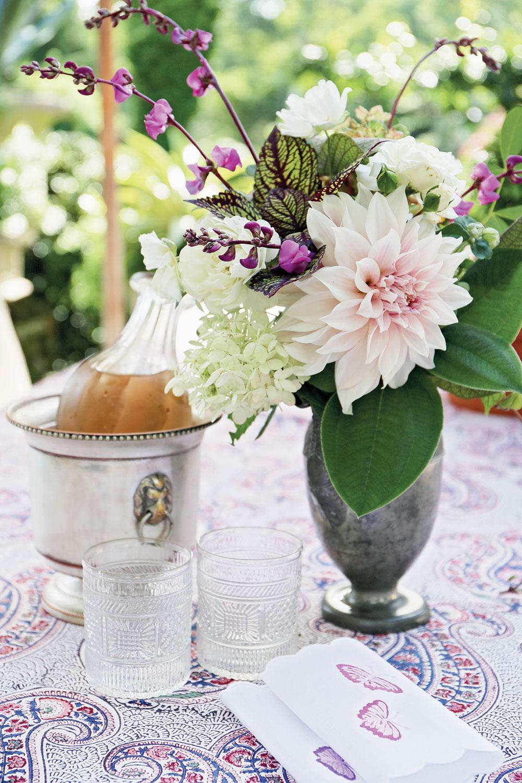 Charlotte Moss Entertains Entertaining Ideas Flower Magazine