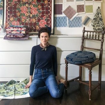 LuRu Home, nankeen fabric