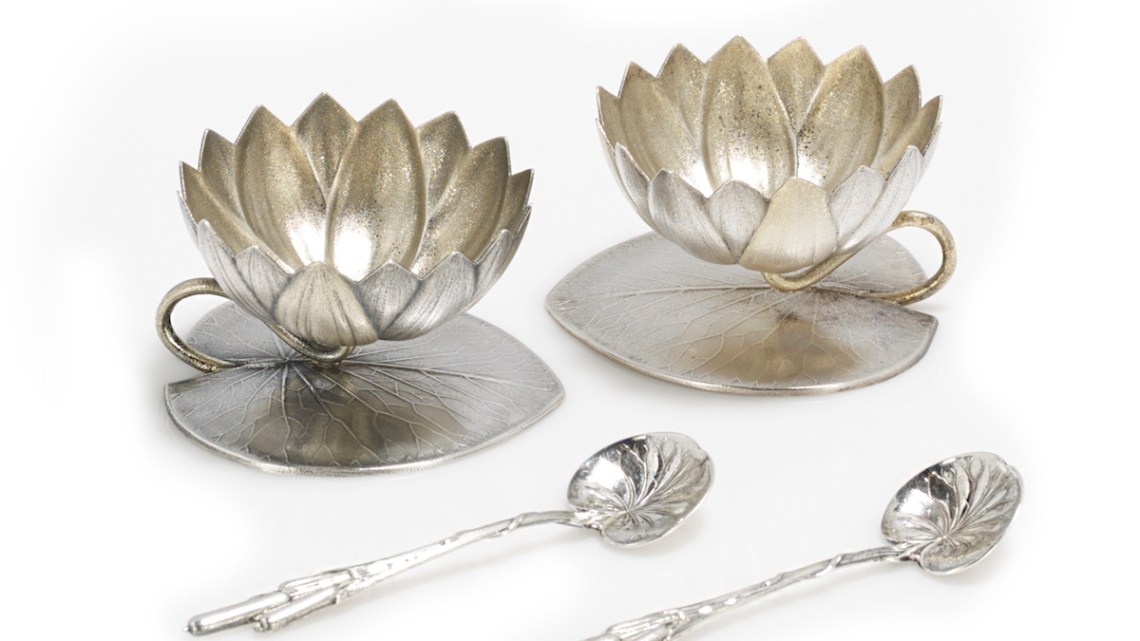 silver salt cellars, antique salt cellar